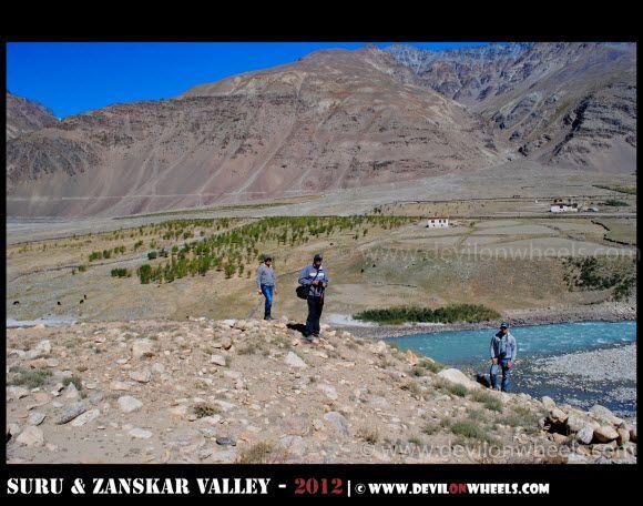 Dheeraj Sharma and Friends in Zanskar Valley