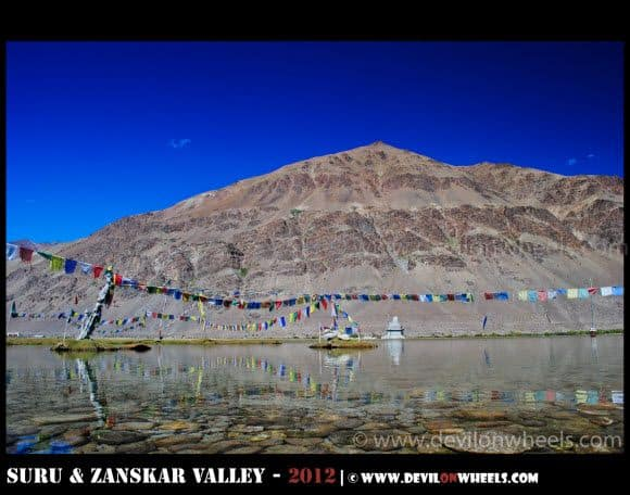 The Sacred Sani Lake in Zanskar Valley
