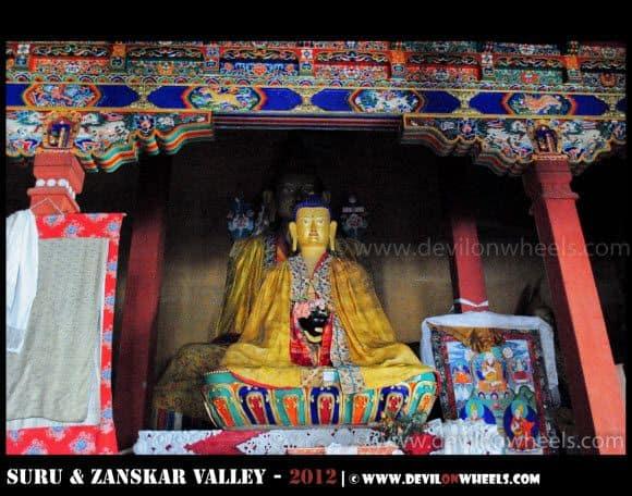 Stongde Monastery in Zanskar Valley
