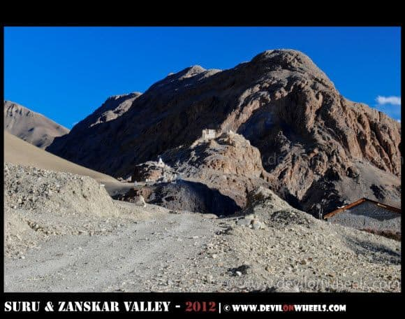 Zangla Fort in Zanskar Valley