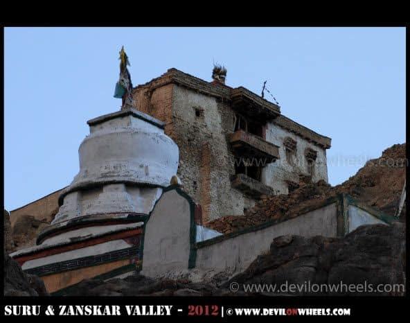 Zangla Fort in Zanskar Valley