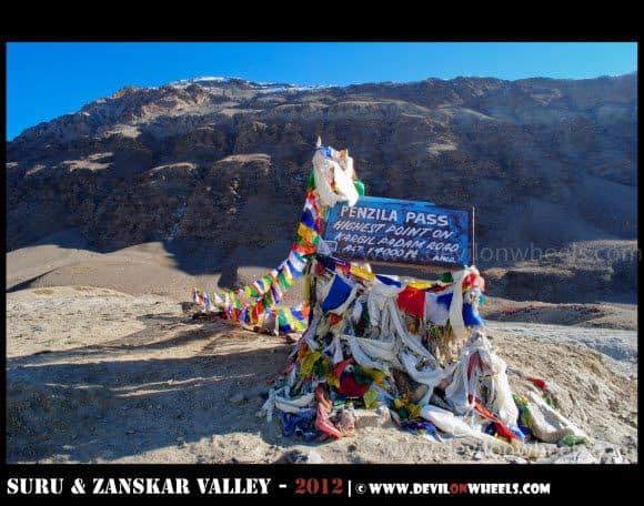 Penzi La Pass... The Highest Point at Kargil Padum Road