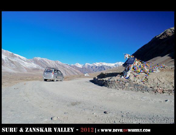 Penzi La Pass, The Highest Point at Kargil Padum Road