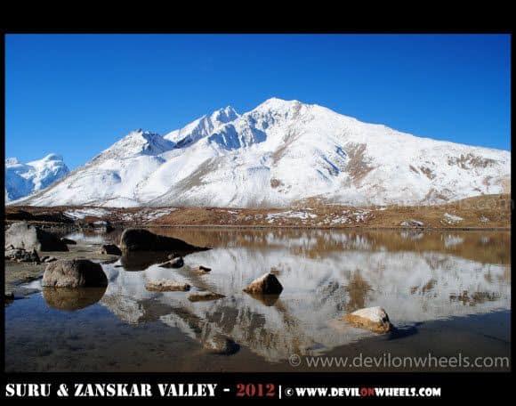 Heavenly Reflections at Stat Tso & Lam Tso Lakes at Penzi La Pass