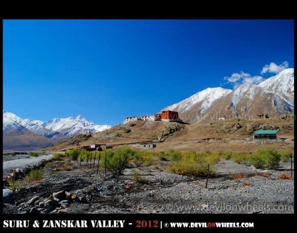 Rangdum Monastery in Suru Valley, Zanskar