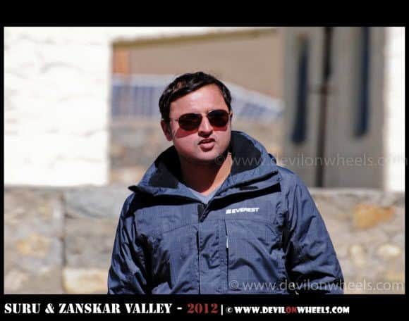 The Top Gun Style - Gaurav at Rangdum Village