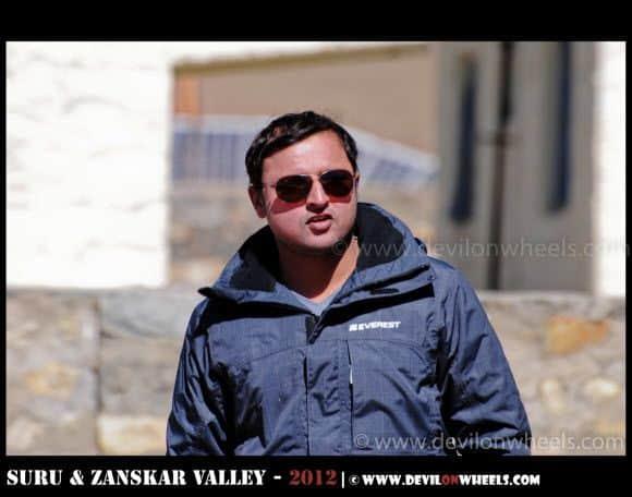 The Top Gun Style - Gaurav at Rangdum Village