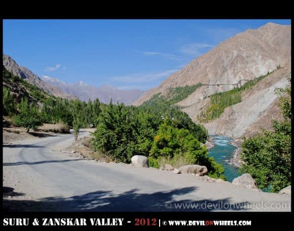 Road to Srinagar from Kargil