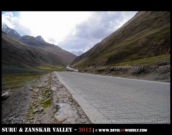 The Paved Path at Zoji La Pass