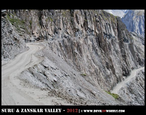 The Ascend to Zoji La Pass