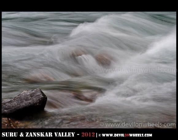 Silky Waters of Sindhu River near Sonamarg