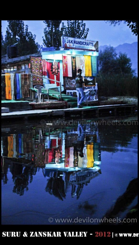 Reflecting Life at Dal Lake