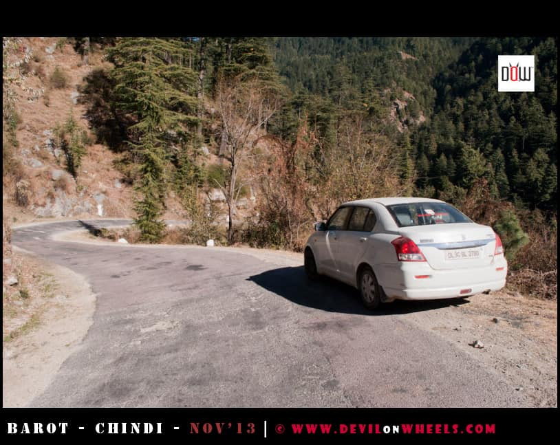 All set for the final leg to Chindi from Rohanda, Himachal