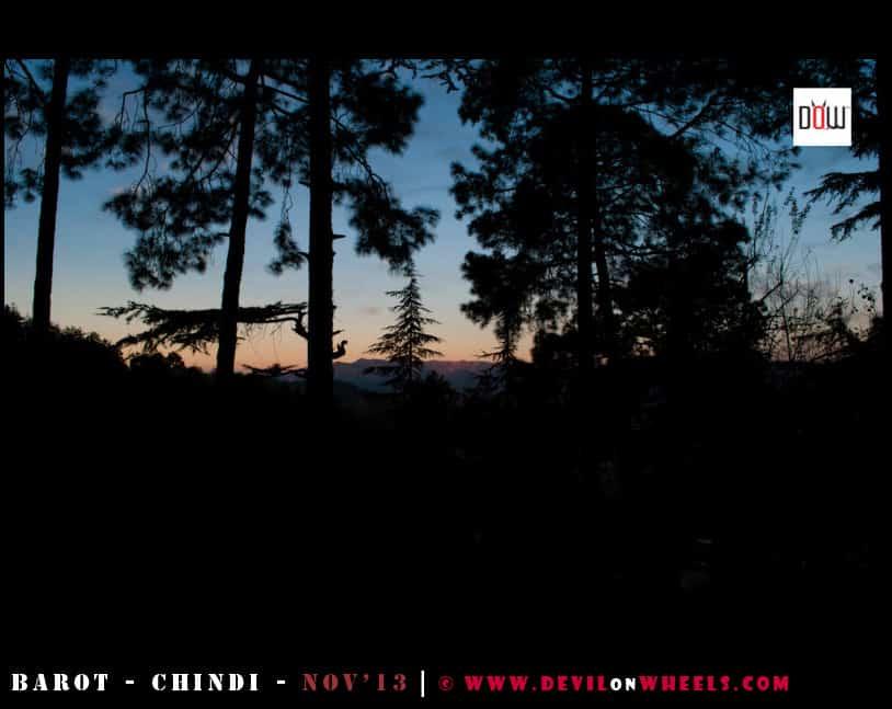 Early Morning views at Chindi