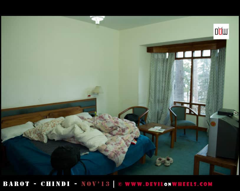 Rooms at Hotel Mamleshwar, Chindi