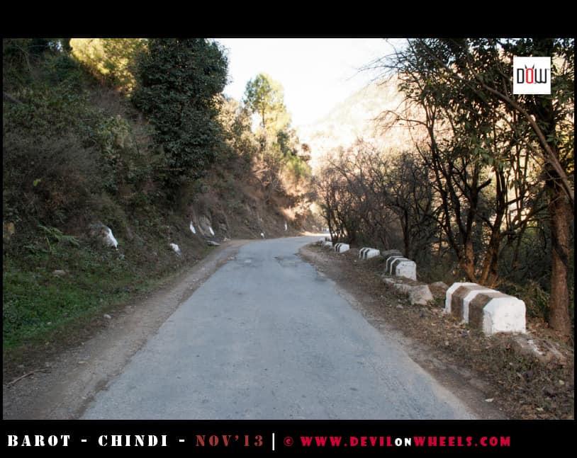 Roads to Tattapani from Chindi