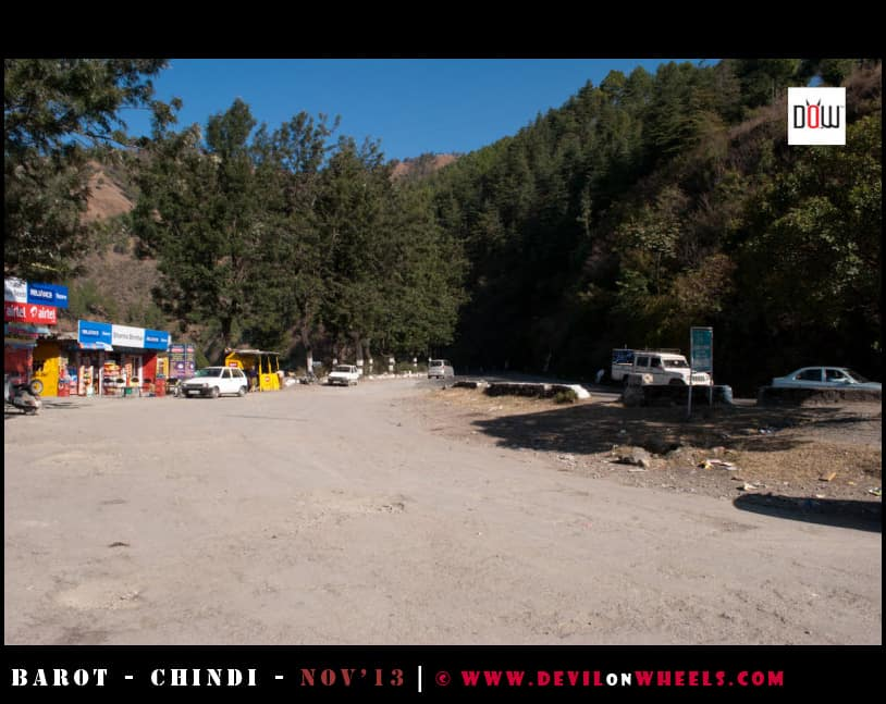 Road to Kiarighat from Shimla
