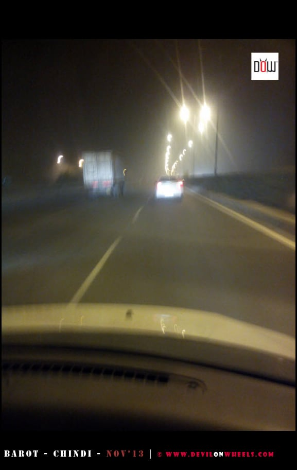 Night Traffic on NH-1