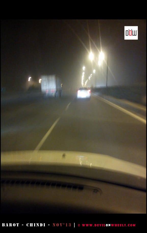 Night Traffic on NH-1