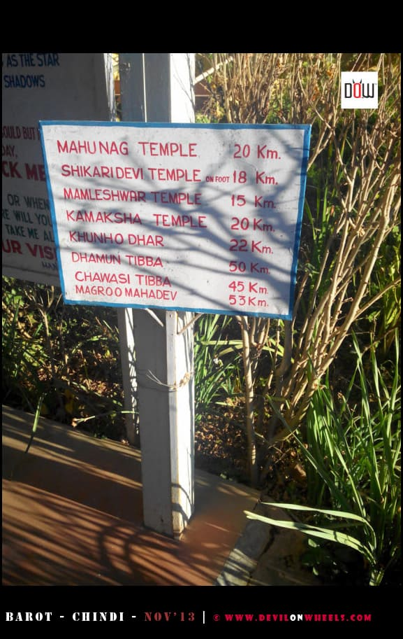 Local Sightseeing Places around Chindi