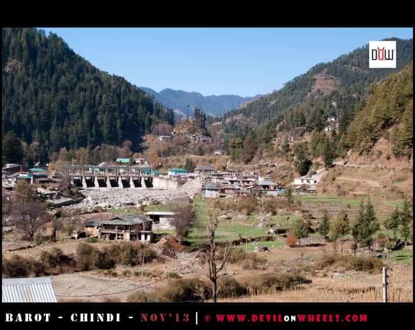 Views of Barot Village, Himachal