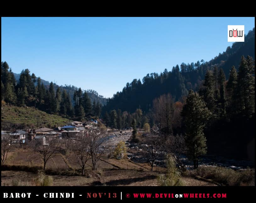 Barot Village from the other side