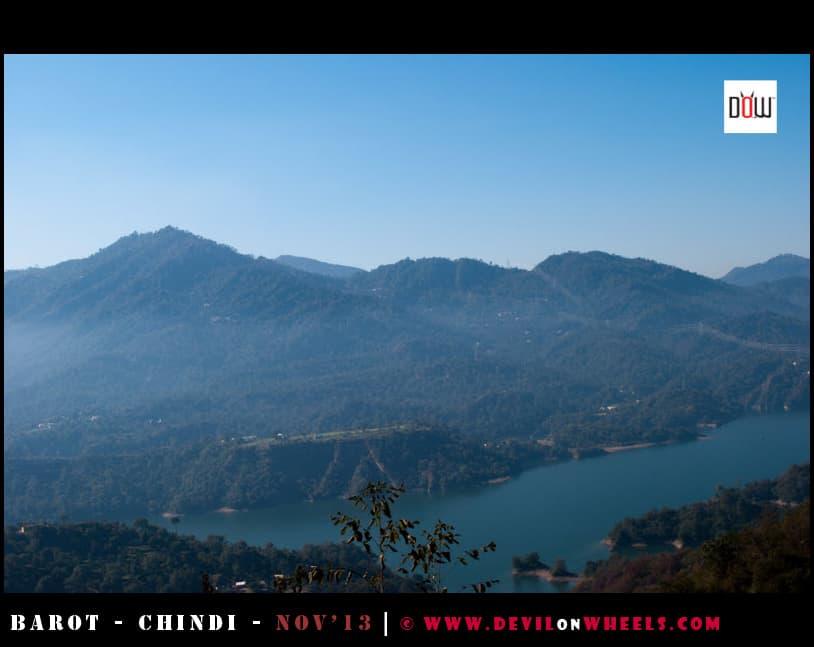 The Haze over Bilaspur in Himachal