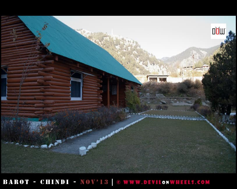 The Lovely PWD Rest House at Barot
