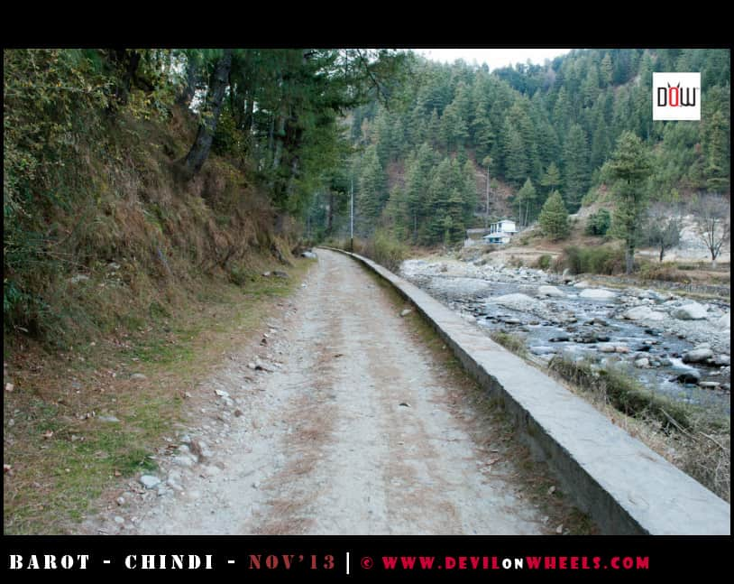 A Lonely walk to Zero Point - Barot