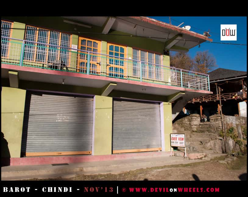 River View Homestay in Barot, Himachal
