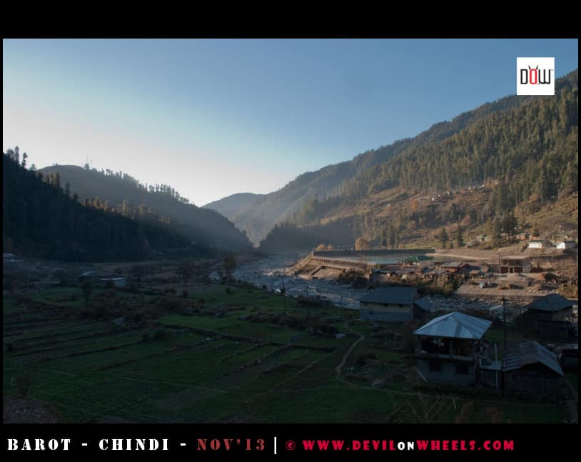 Early Morning Views - Barot Village, Himachal