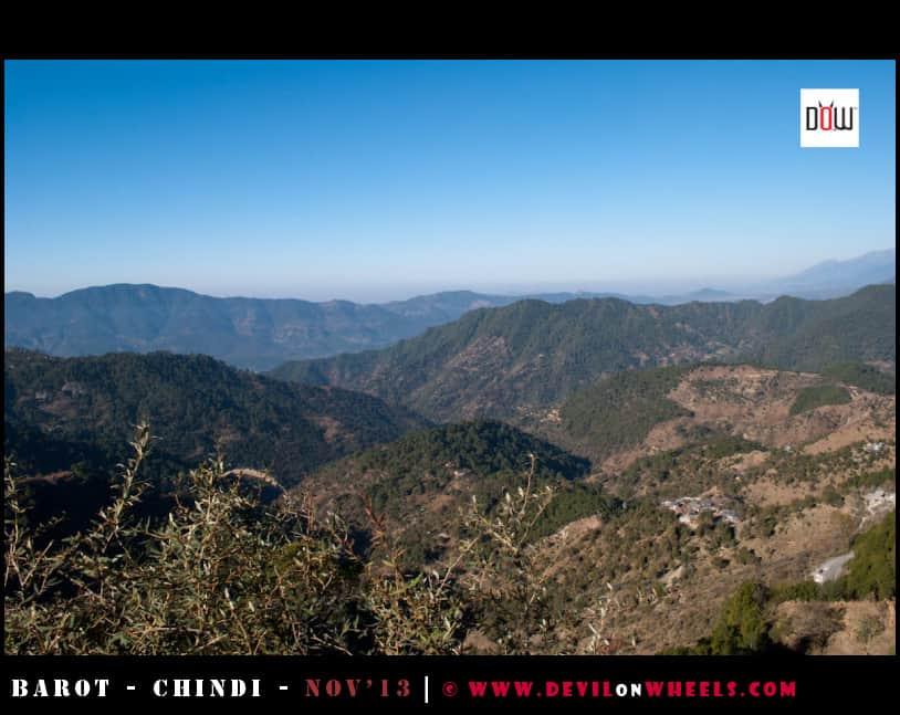 More views as seen near Ghatasani, Himachal