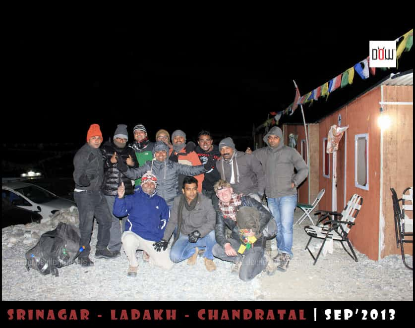 DoW Mega Meet Group at Pangong Tso
