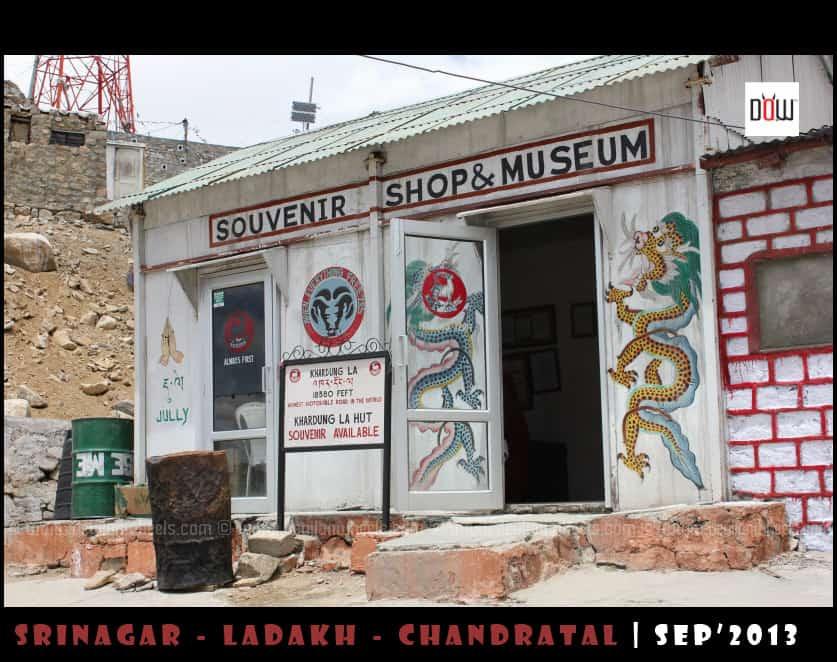 Souvenier Shop and Museum at Khardung La
