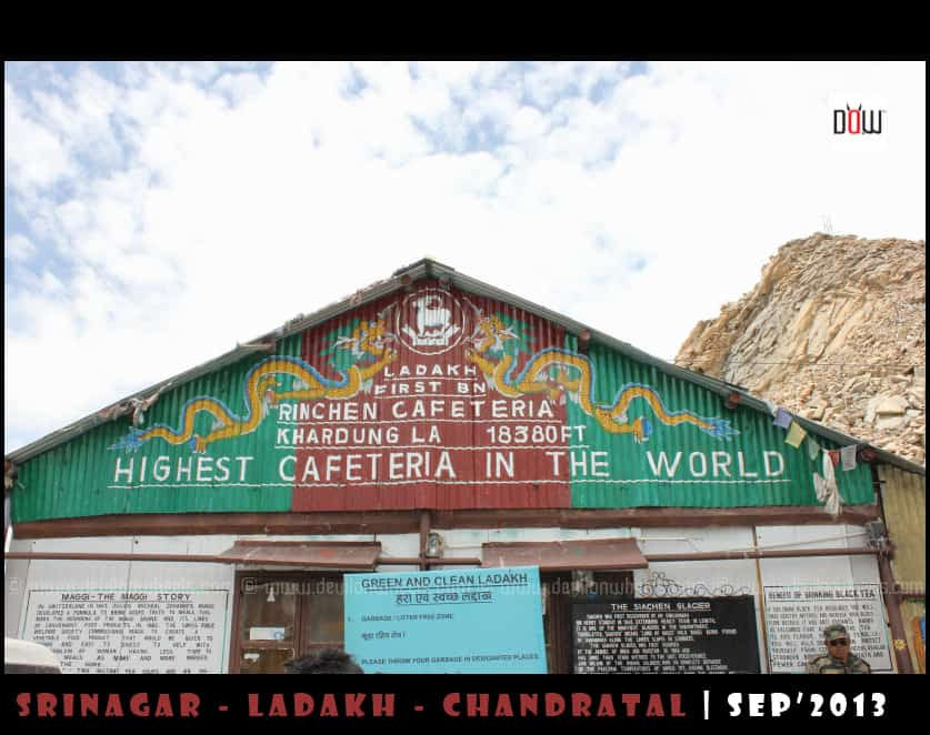 Rinchen Cafeteria at Khardung La