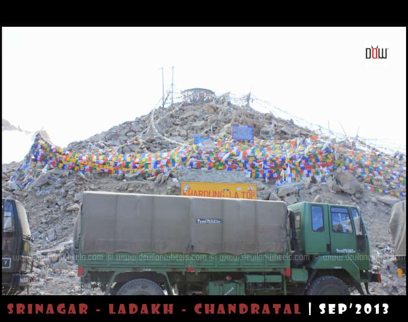The Mess up at Khardung La