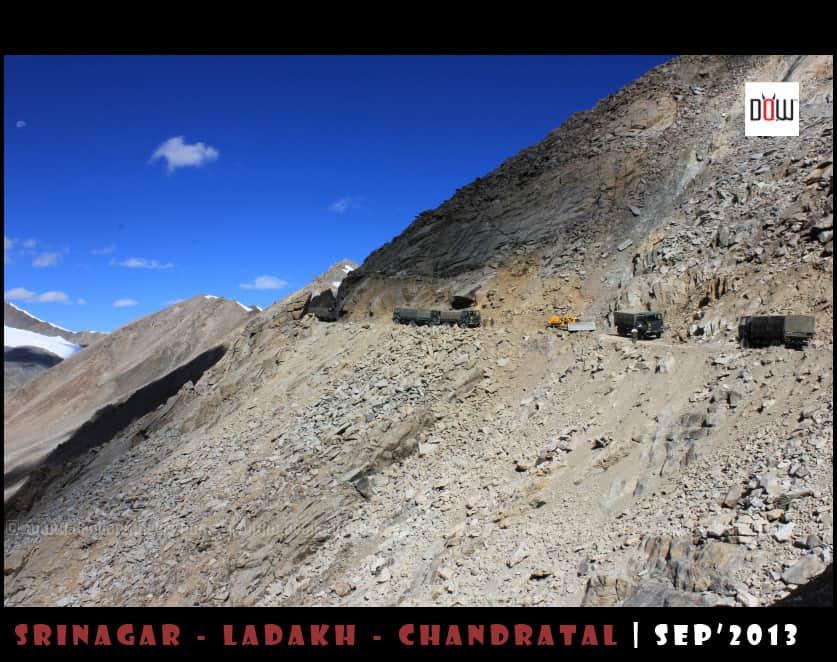 The Mess up at Khardung La