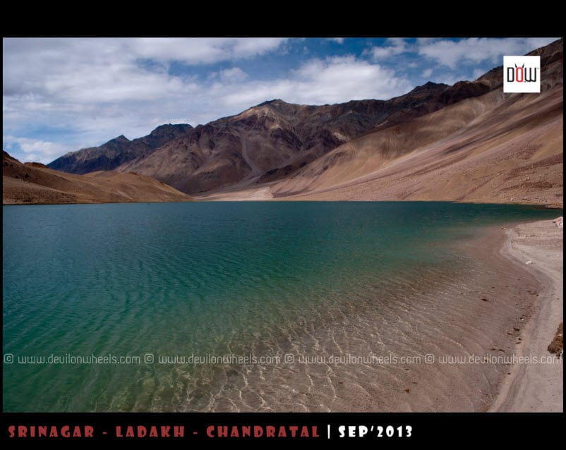 The Charismatic Chandratal Lake