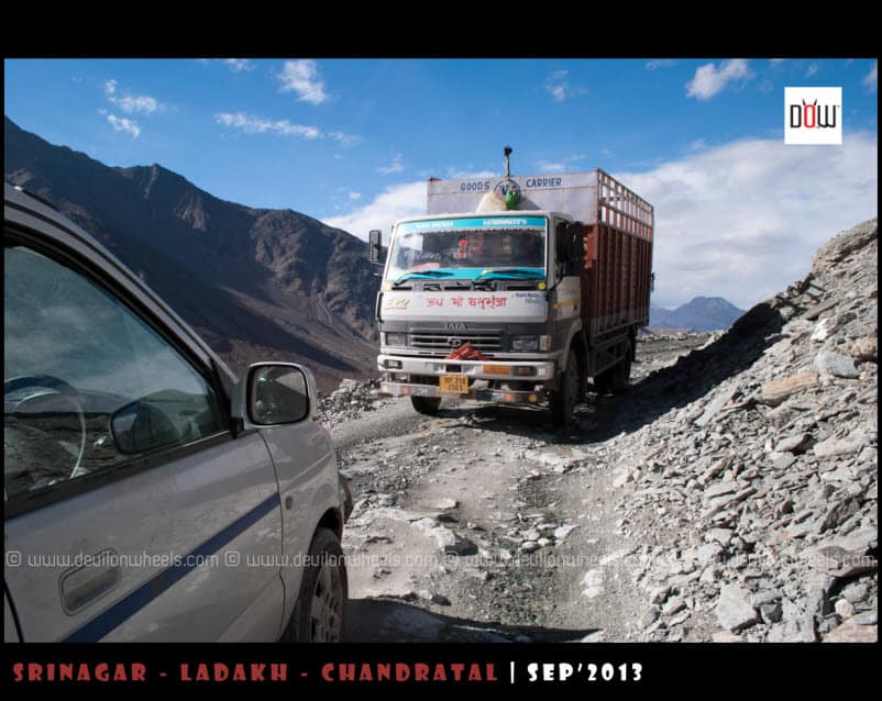 Almost Crashed ;) ... On the way to Kunzum Pass