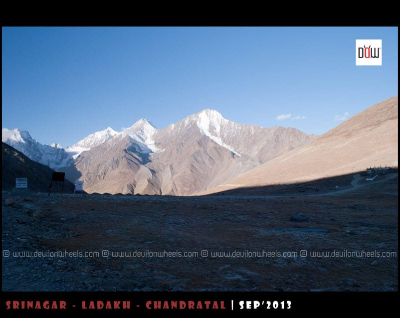 An early morning at Kunzum Pass