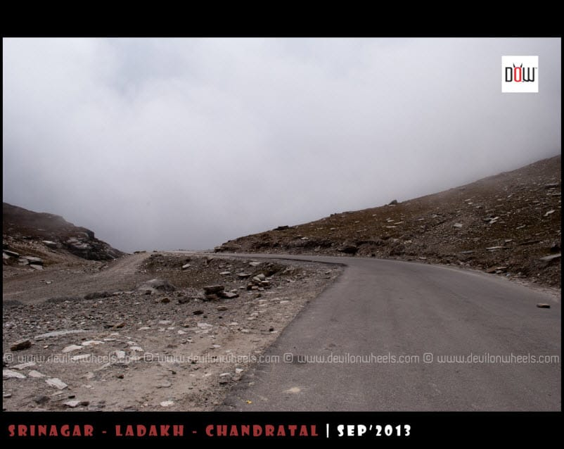 Those tarred roads to Rohtang Pass