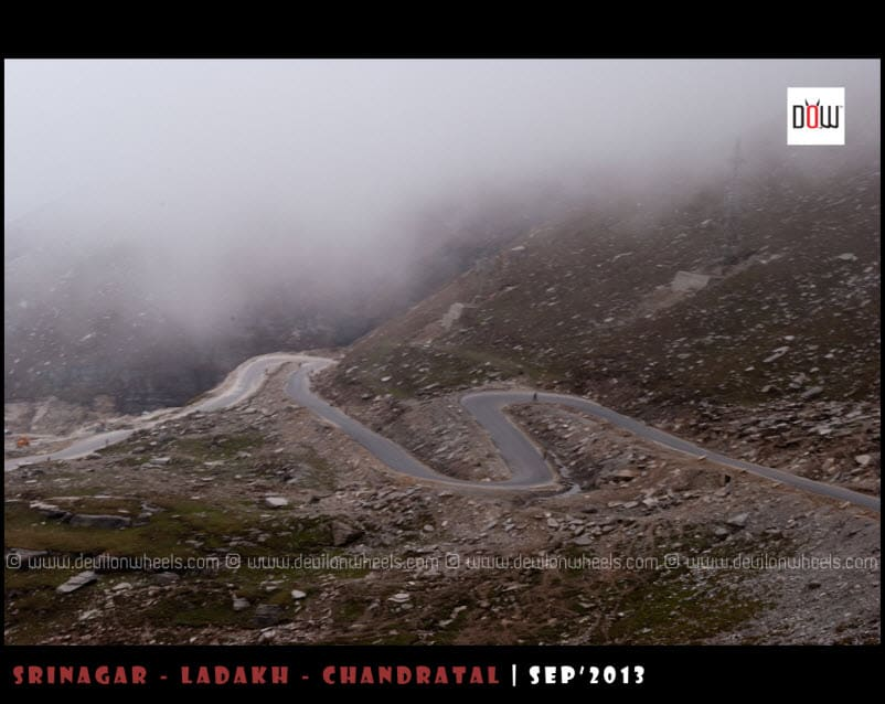 The loops to Rohtang Pass