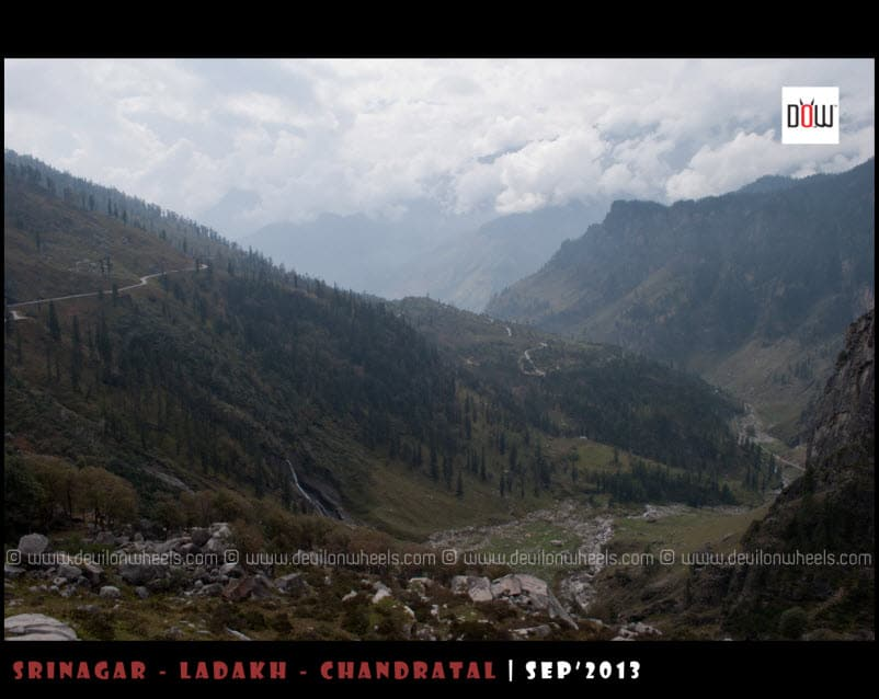 And we move further closer to Manali