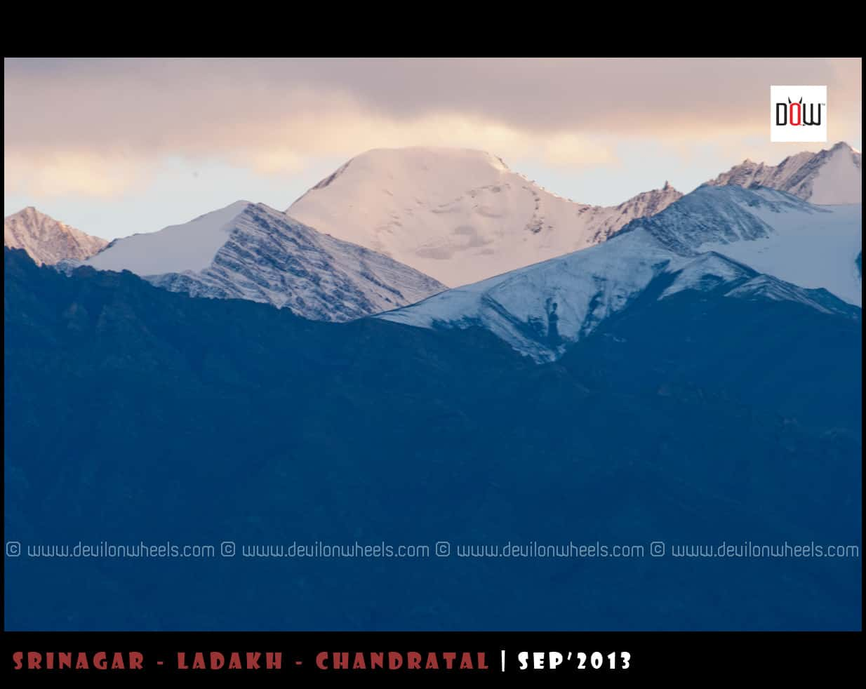 Close Up Shots of Stok Kangri Range