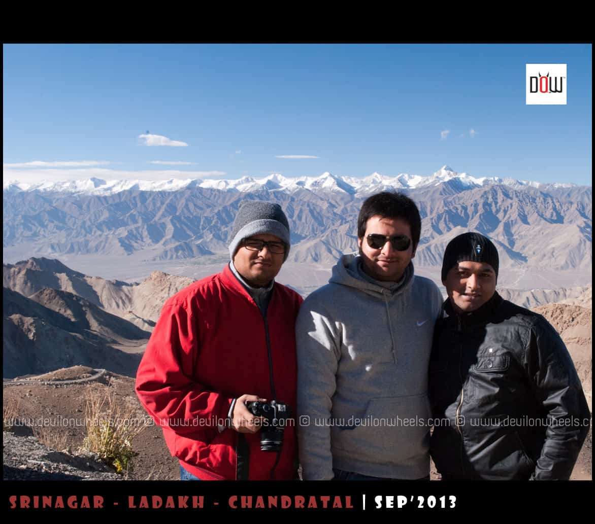Dheeraj's Friends in Ladakh