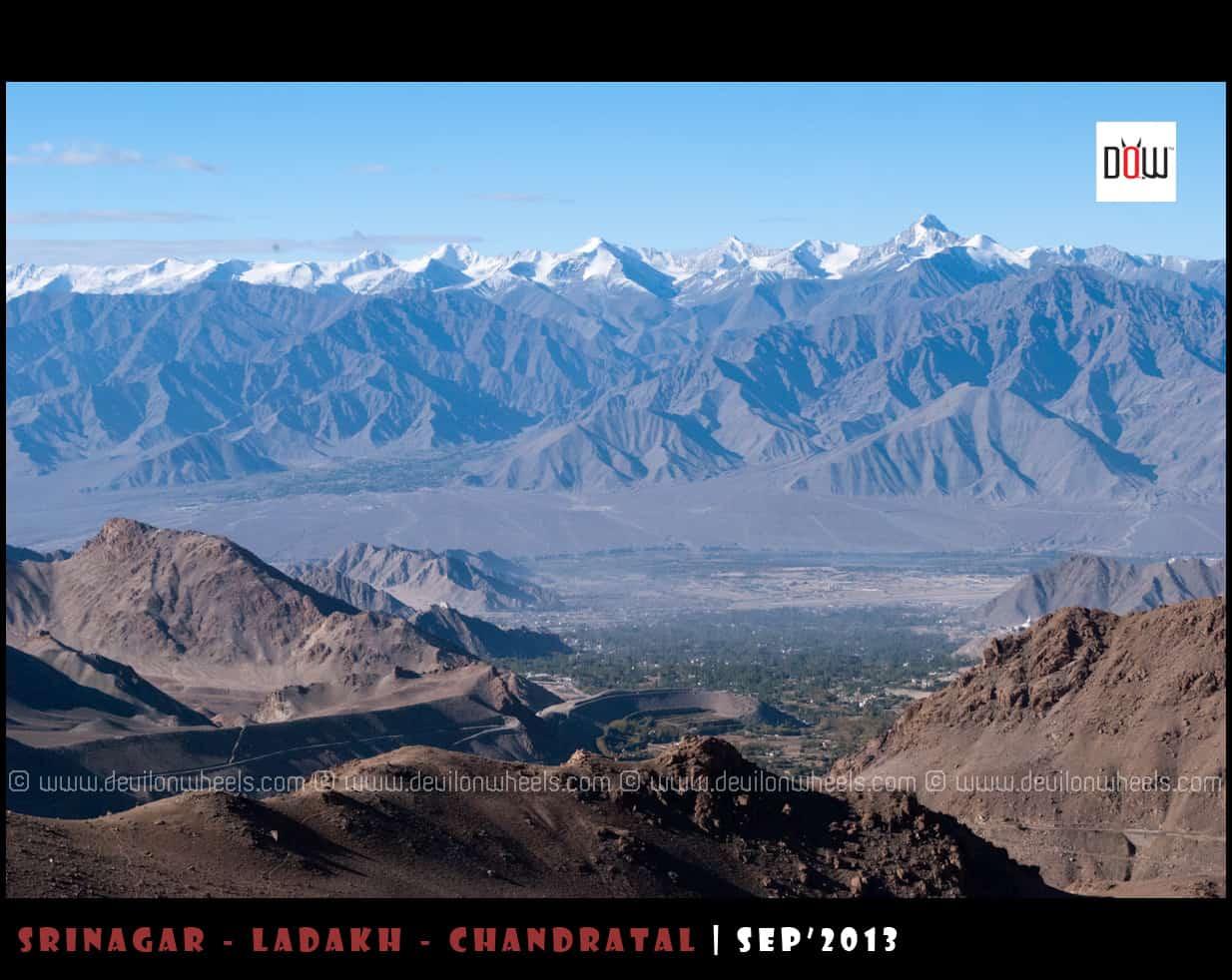 Stok Range, guarding the Heaven called Ladakh