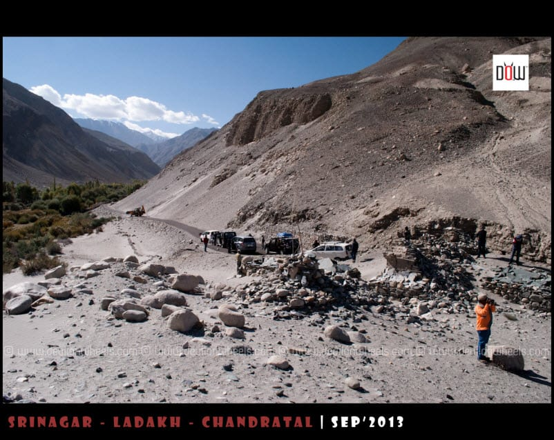 DoW Group, enjoying near Landslide point