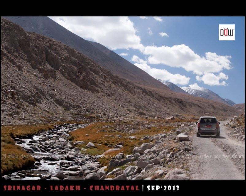 A Desolated Drive to Wari La Pass