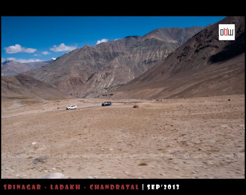 On the way to Wari La - Nubra Valley to Pangong Tso