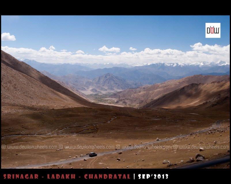 Sakti Village from other side of Wari La Pass